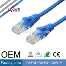 SIPU 4 Paare optional Farbe rj45 Netzwerk utp Kabel 1m Cat6 Patchkabel