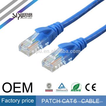 SIPU 4 pares de color opcional rj45 network utp cable 1m cat6 patch cord