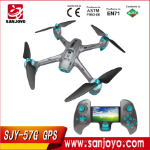 720P HD Wifi FPV Camera Drone 4CH 6 Axis Altitude Hold Drone RC Quadcopter SJY-57G GPS drone