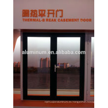 China puertas de aluminio