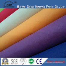 Tissu non-tissé de Spunbonnd de pp pour des sacs à provisions / sacs de cadeaux