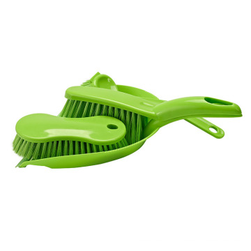 China Supplier Cheap Product Green Plastic Mini Broom And Dustpan Set For Table