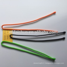 Attache de câble en silicone colorée