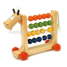 Abacus en perles de bois pour l'école préscolaire