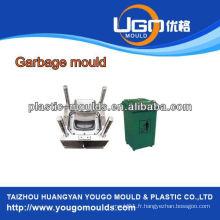 Moules domestiques de moule à récipient à déchets de 240 litres, conteneurs à déchets de construction, moulures par injection en Chine