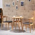 Домашняя мебель скандинавском стиле обеденный стул с массивной древесины
