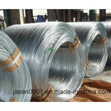 0,4 mm à 6,30 mm Fil en acier galvanisé à haute teneur en carbone