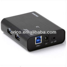 ORICO USB3.0 Super velocidad HUB, hub de 4 puertos, 4 puertos USB3.0 hub