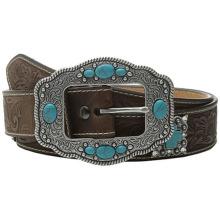 Westliche Schnalle mit Turquoise Stones American Belt