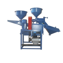 DONGYA Mini máquina de molienda de arroz con pantalla vibratoria