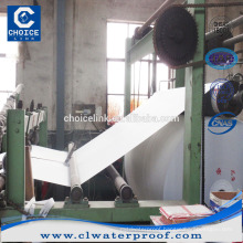 Polyester nonwoven felt for waterproof membrane