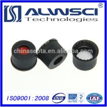 Shimadzu 100pcs/pk ND8mm black screw polypropyle cap