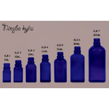 30ml Blue Cobalt Dropper Childproof Oil Glass Bottle (klc-2)
