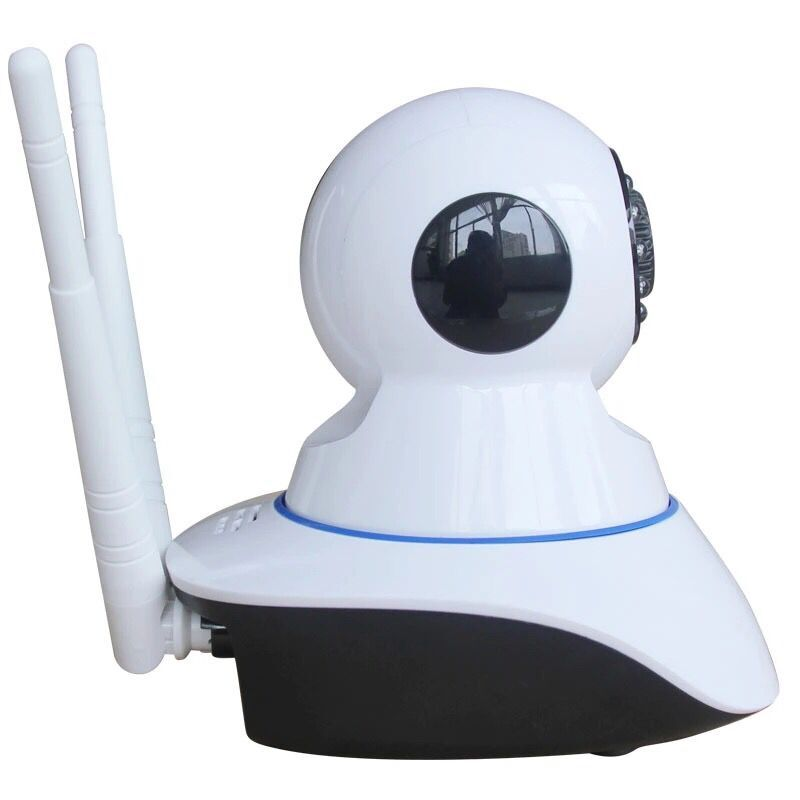 Pan Tilt 960P Ip Wifi Baby Camera 12Vwith Two Antennas