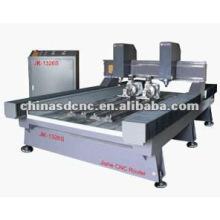 máquina de gravura de pedra do CNC de 4 eixos JK-1326S
