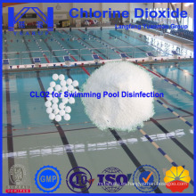 Desinfectante químico del dióxido del cloro de la piscina hecho en China