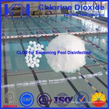 Désinfectant chimique de dioxyde de chlore de piscine fabriqué en Chine