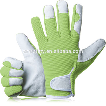 Удобные облегающие кожаные рабочие перчатки садовника перчатки - идеальный подарок для мужчин,женщин(женское/дамы) на юбилей, Рождество
