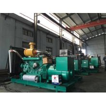 Open type water cooled 800kw three phase diesel generator set