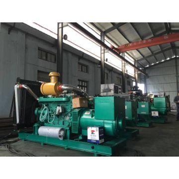 Tipo abierto grupo electrógeno diesel trifásico refrigerado por agua 800kw
