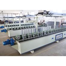 Carpintería caliente y fría de pegamento Perfil de marco MDF Wrapping máquina de melamina