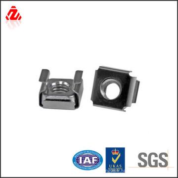 Écrou de cage de serrure carrée en acier inoxydable