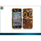 Luxury Sparkling 3d Bling Diamond Pearl Hard Case For Iphone 5 Protective Case Oem