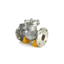 API 598 válvula de retenção de porta dupla tipo de válvulas de retenção de alta qualidade