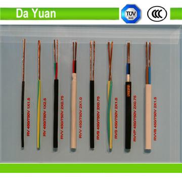 Thw 10AWG núcleo de cobre XLPE cable de aislamiento eléctrico