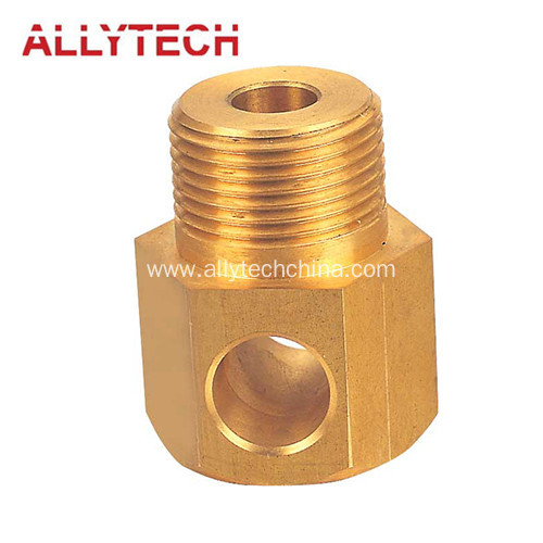 Precision Brass Turning Nozzle