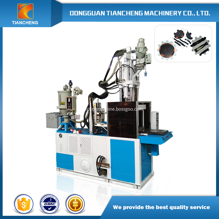 High Efficiency Vertical Double Slide Table Injection Machine Tc 850 1s