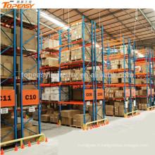 support de palette sélectif de stockage enduit de poudre pour l'entrepôt