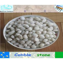natürlicher Kies Stein 3-120mm, Flusskiesel