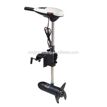 HANGKAI 12V Transom Mounted 55 Pound Thrust Electric Fishing Boat Trolling Motor