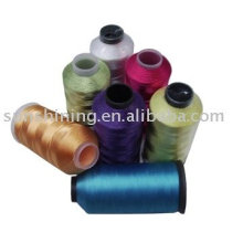 Doped Dyed Polyester Embroidery Thread