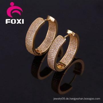 14k Gold Plated Ohrring neuesten einfachen Stil Ohrring