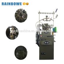 Máquina de confecção de malhas automática automatizada completa das peúgas de toalha de 3,75 rb / equipamento de produção