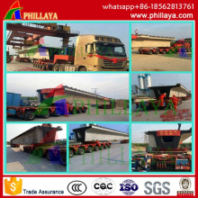 Heavy Duty Hydraulic Modular Semi Trailer/Heavy Duty Equipment Trailer