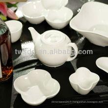 porcelaine ou la vaisselle en céramique