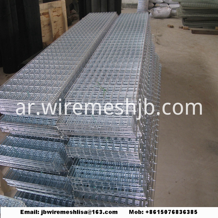 Hot-dip Galvanized Welded Wire Mesh Panel
