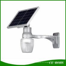 Luz solar do jardim do diodo emissor de luz do sensor do diodo emissor de luz IP65 PIR de 6W diodo emissor de luz