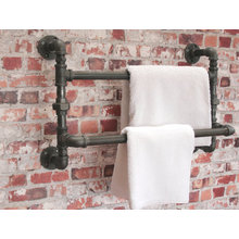 "3/4"" Pipe Bathroom Malleable Storage Old Victorian Style"