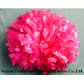 Plastic Hot Pink POM POM