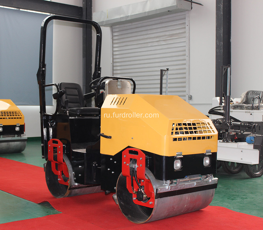 Hydraulic+Asphalt+Road+Small+Vibratory+Road+Roller+Compactor