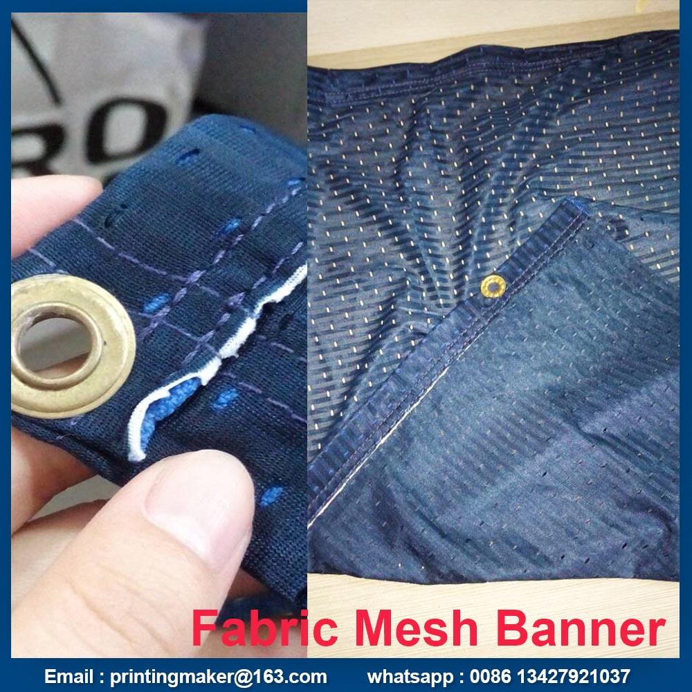 fabric mesh banner printing