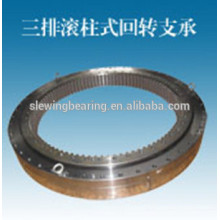 Customized Three Row Roller Slewing Bearing Internal Gear