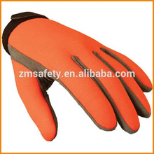 Traffic Police Synthetic Leather Glove