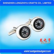 Round Compass Cufflinks