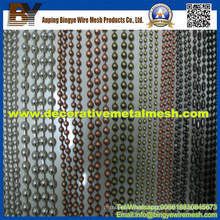 Metal Steel Ball Bead Chain Curtain for Decoractive Mesh