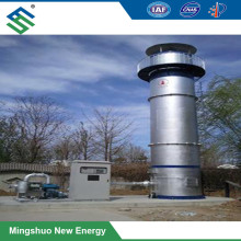 Biogas Torch for Environmental Protection and Biogas Plant